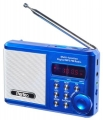 Радиоприёмник Perfeo Sound Ranger, УКВ+FM, MP3 (USB/TF), USB-audio, BL-5C 1000 mAh, синий (SV922BLU)