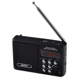 Радиоприёмник Perfeo Sound Ranger, УКВ+FM, MP3 (USB/TF), USB-audio, BL-5C 1000 mAh, черный (SV922BK)